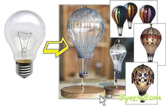 Что можно сделать из лампочки