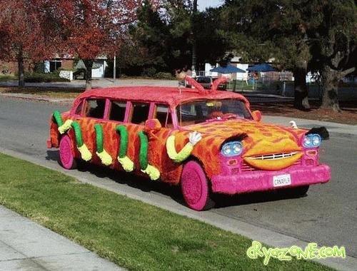 Фото самых смешных авто
