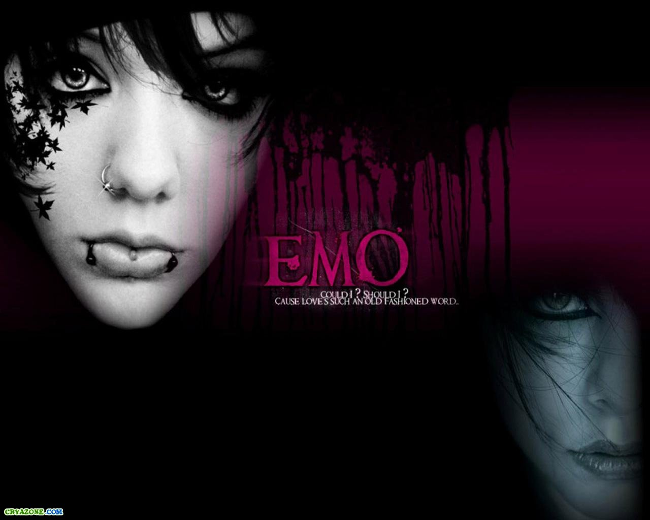 Emo girl wallpaper for facebook.