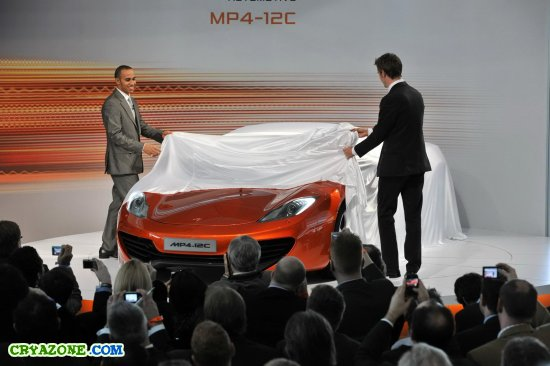Суперкар McLaren Automotive MP4-12C