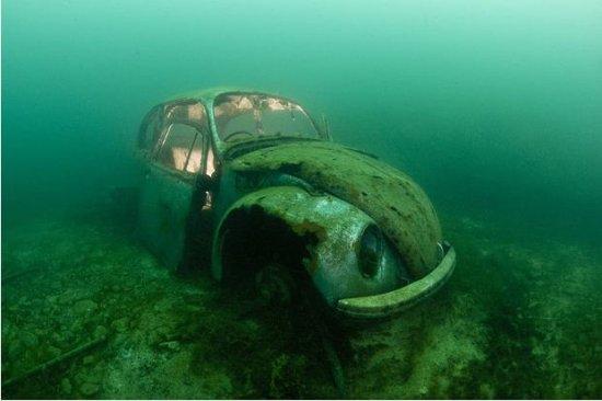 Дайвинг к затонувшим кораблям