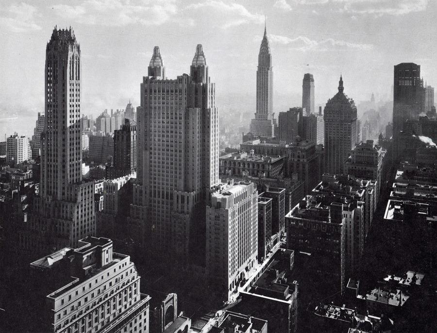 фото нью йорк черно-белые