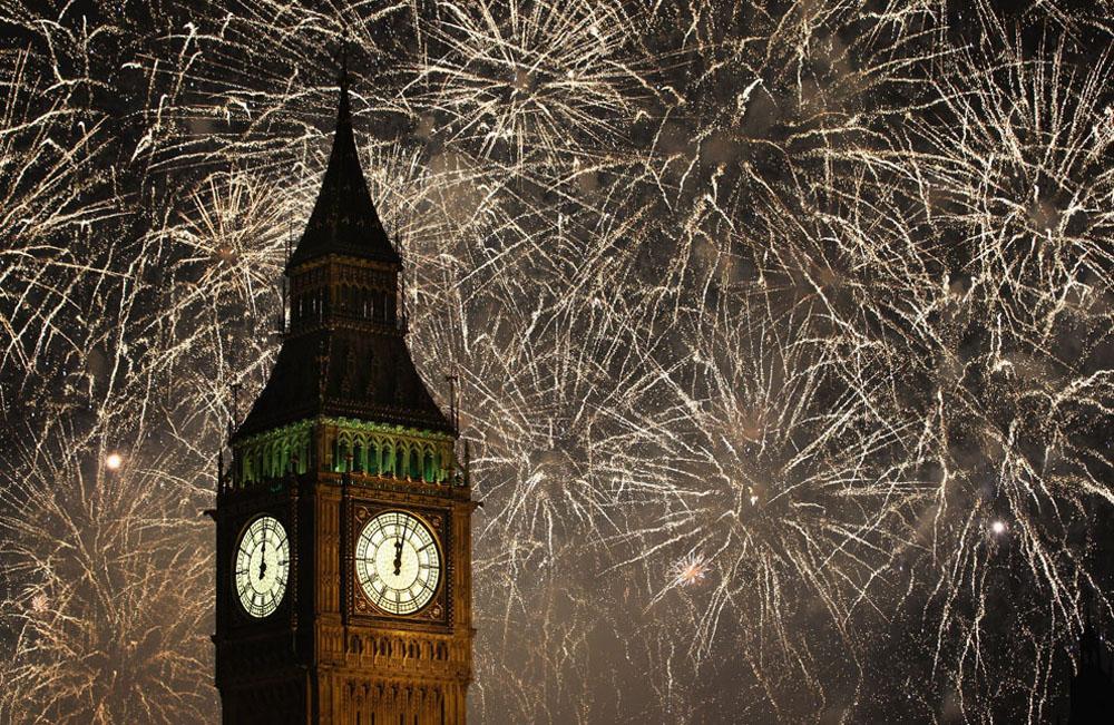 Как встречали 2012 год в разных уголках мира
