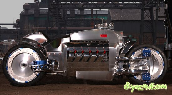 Dodge Tomahawk (Video and Photos)