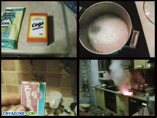 Как сделать дымовую шашку в домашних условиях